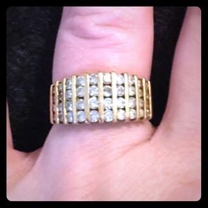 Gold anniversary Ring